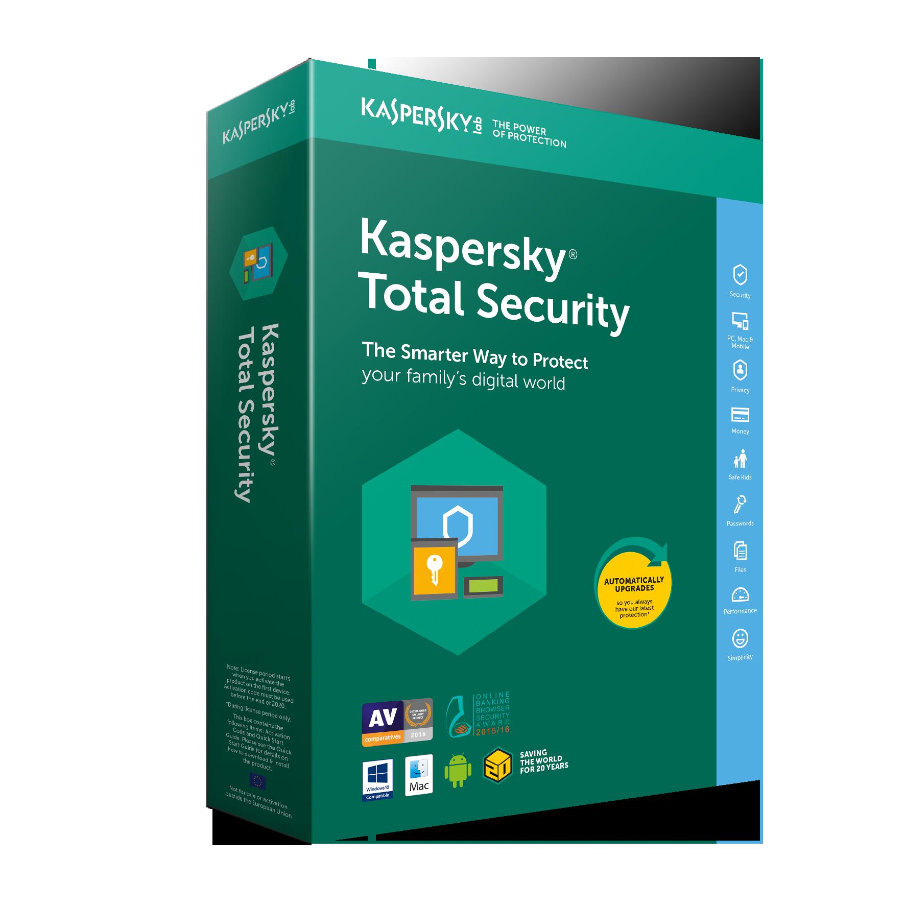 Kaspersky Total Securrty