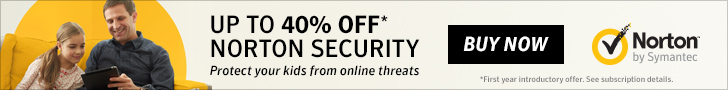 Norton Security Up to 40% Off