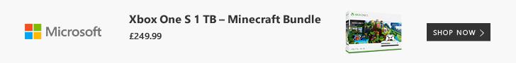 Microsoft XBox One S1 TB Minecraft Bundle