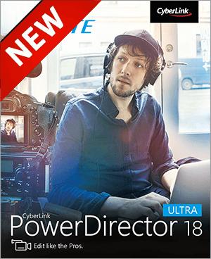 PowerDirector 18 Ultra