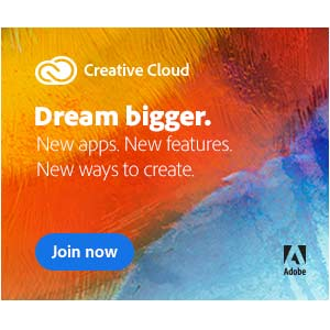 Adobe Creative Cloud Single Apps