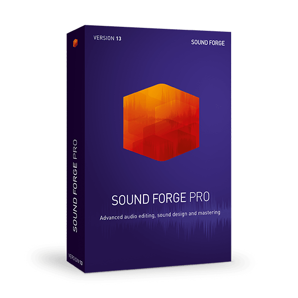 Sound Forge Software