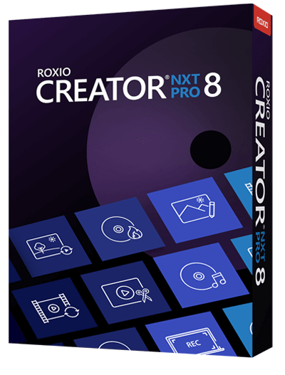 Roxio Software - Roxio Creator NXT 8 Pro