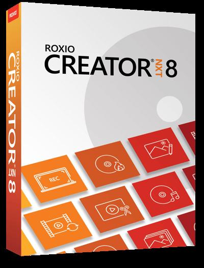 Roxio Creator NXT 8